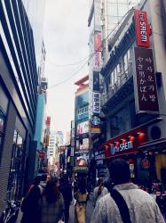 Myeongdong Lunching: 3/28/18