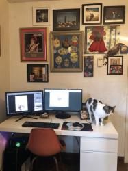 Friday Five: Hole-y Desks, Henry the White Knight, Corgi Mail -- AND SO MUCH MORE